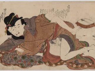 Kitagawa Utamaro, Livre des lettres (Ehon Uikanmuri),  c. 1800