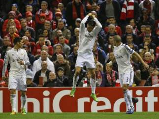 Gol de Cristiano al Liverpool