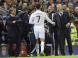 Cristiano y Ancelotti