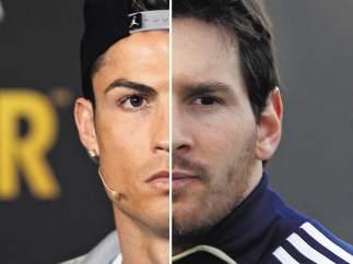 Cristiano Ronaldo y Leo Messi
