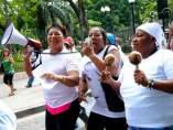 Marcha de las Mujeres Invisibles contra el Maltrato y la Explotaci�n Laboral en Guayaquil