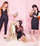 Las hermanas Kardashian, juntas en una campa�a publicitaria