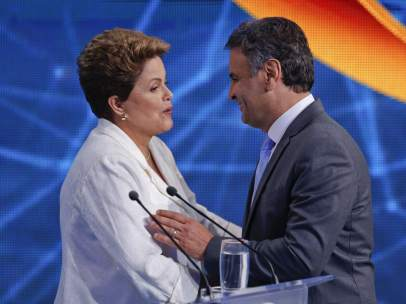 Rousseff y Neves