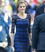 Letizia, en los Premios Pr�ncipe de Asturias con un vestido que parece un Missoni pero no lo es