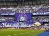 'Tifo' en el Bernabéu
