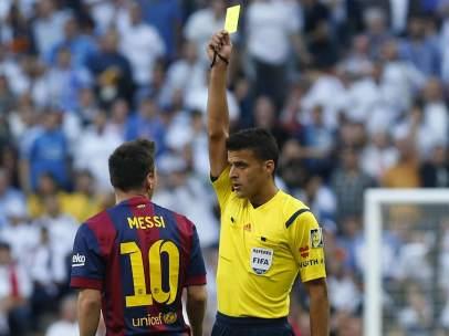 Tarjeta a Messi