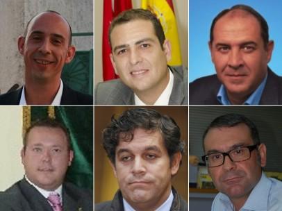 Detenidos seis alcaldes madrileños