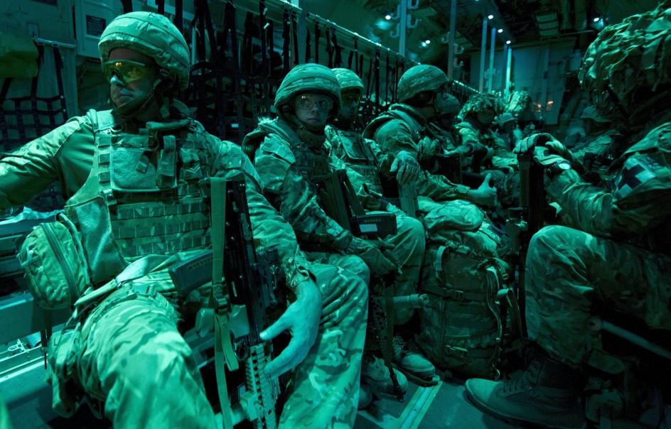 Las últimas tropas de combate británicas abandonan Afganistán