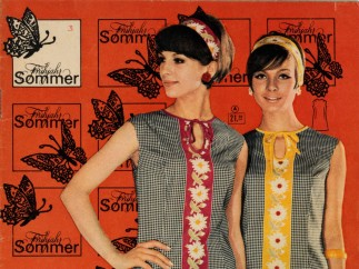 """Mail-order catalog, """"The Path to Good Shopping,"""" Spring/Summer Issue, 1960s, Versandhaus Leipzig"""