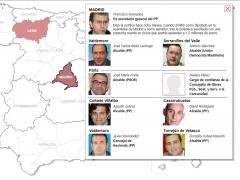Detenidos en la operación 'Púnica'