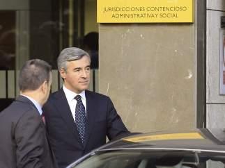 Ángel Acebes acude a declarar