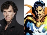 Benedict Cumberbatch y el Doctor Extraño