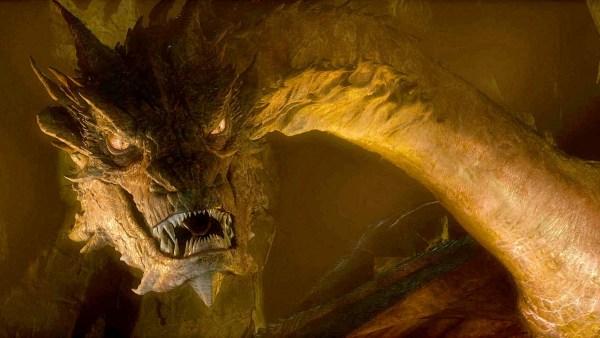 Smaug el dragón de El Hobbit