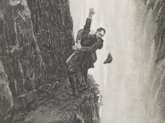 "Strand magazine Vol 6.1893. The adventure of the Final Problem  ""The Death of Sherlock Holmes"""