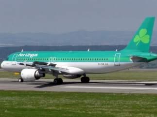 Avión de Aer Lingus