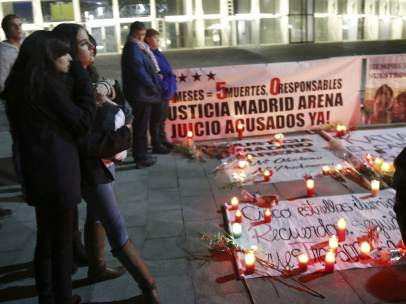 Recuerdo del Madrid Arena