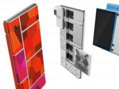 El prototipo del m�vil modular de Google en acci�n