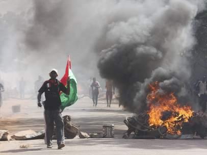 Disturbios en Burkina Faso