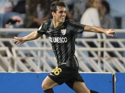 Gol del Málaga