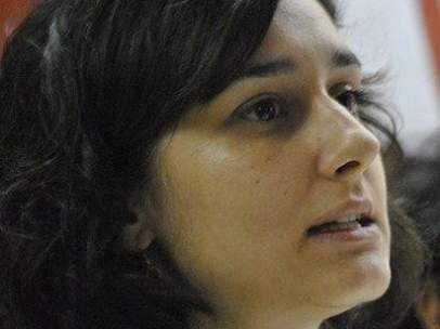 Teresa Ruiz, miembro de la Unión contra el Fascismo y el Racismo de Sevilla.