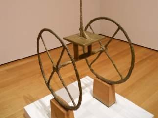 'Chariot', de Giacometti