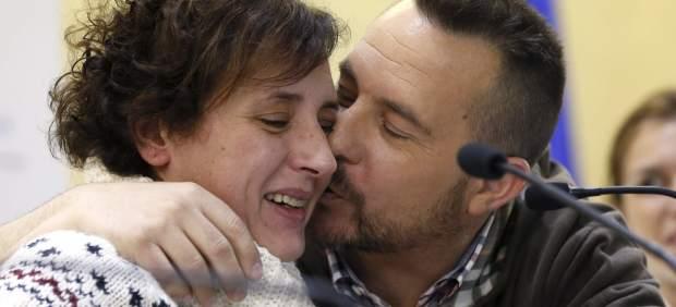 Teresa Romero y su marido