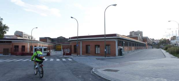Mercado de legazpi for Piscina municipal arganzuela