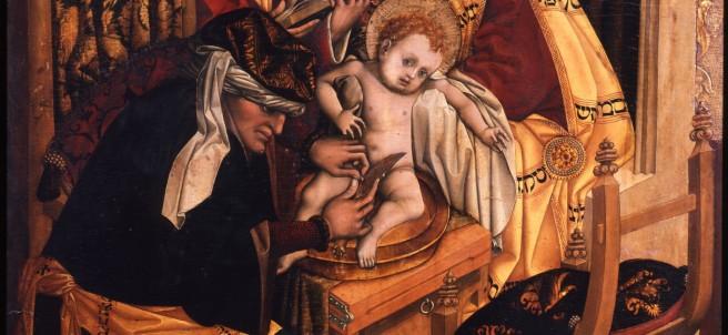 Beschneidung Christi, Meister des Tucher-Altars, tätig in Nürnberg, ca. 1450