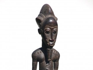 Orakelfigur der Baule, Elfenbeinküste, ca. 1900–1925