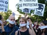 """Manifestación contra la """"Ley Mordaza"""""""