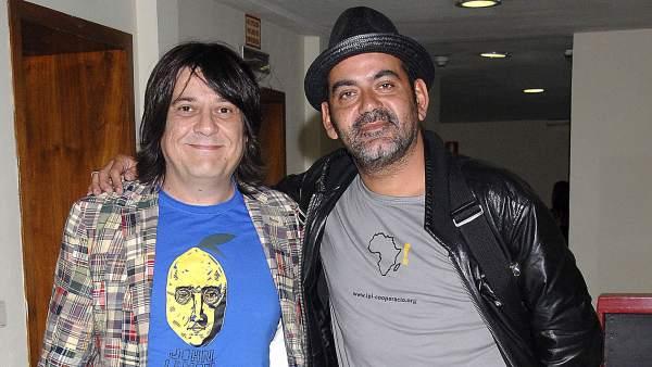 Juan Cruz y José Corbacho