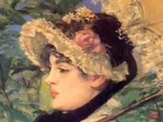 'La primavera', de Manet
