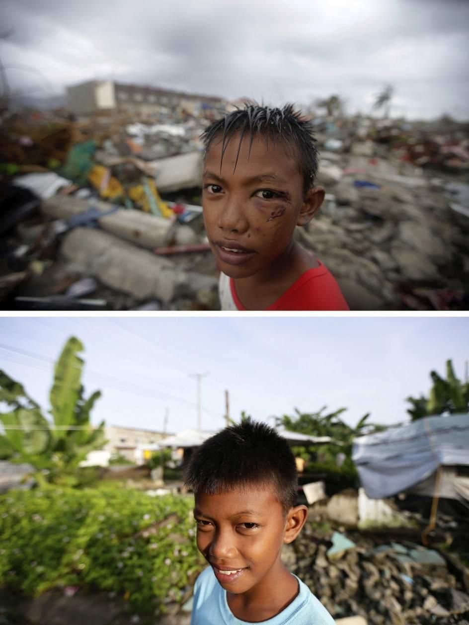 Un año después del paso del tifón 'Haiyan'