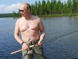 Vladimir Putin de pesca