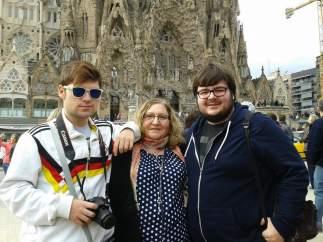 Turistas el 9-N en Barcelona