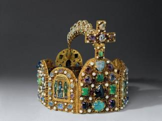 Reichskrone, Replica of Holy Roman Emperor's Crown, lead, Germany, 1913