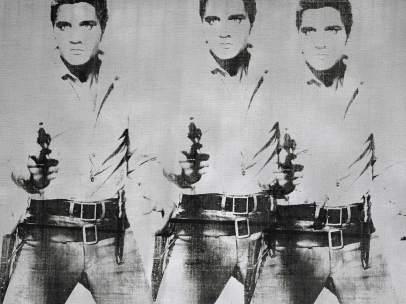 'Triple Elvis', de Warhol