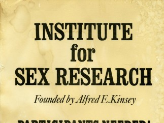 Poster for Institute for Sex Research - Participants Needed