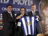 David Moyes, presentado por la Real Sociedad