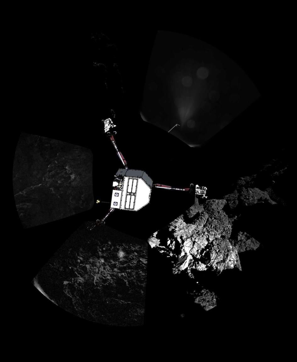 El módulo Philae se mantiene en silencio sobre el cometa y preocupa a los científicos