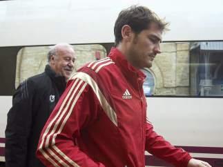 Del Bosque y Casillas