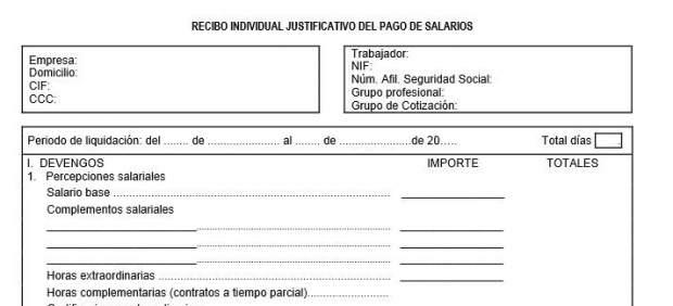 Recibo irpf 2016 for Modelo nomina autonomo