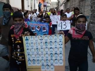 Estudiantes desaparecidos en M�xico