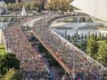 La Maratón Trinidad Alfonso de Valencia ha congregado a 11.523 corredores.