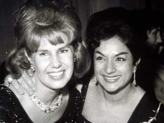 Cayetana y Lola Flores