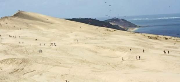 """La duna de Pilat, el sorprendente """"desierto"""" de Francia"""