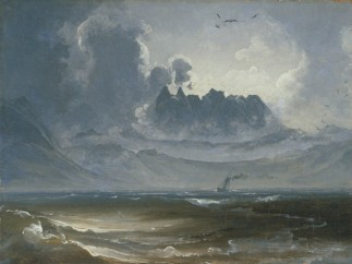 Peder Balke - The Trolltindene Range, about 1845