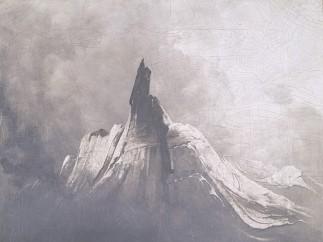 Mount Stetind in Fog, 1864