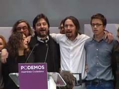 Primera reuni�n ejecutiva de Podemos