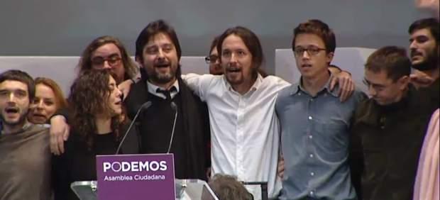 Primera reunión ejecutiva de Podemos